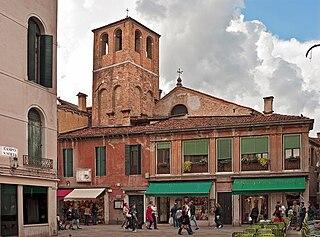 church building in Venice, Italy