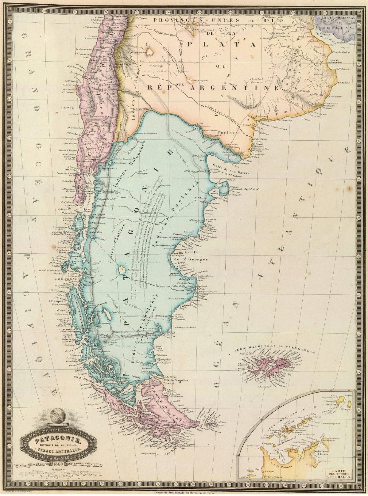 Chile Patagonien Karte.Patagonien Wikipedia