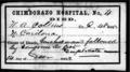 Chimborazo hospital richmond civil war death certificate.png