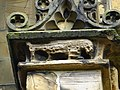 Chimeras at St Mary's Church, Mold - yr Wyddgrug, Wales 38.jpg