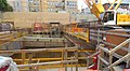 Chinatown station construction, April 2018.jpg
