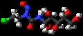 Chlorozotocin 3D ball.png