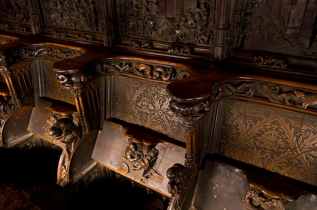 Choir stall of Cathedral of Toledo 01.jpg