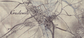 Chrósćicy – karta wokoło 1800.png