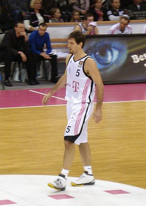 Telekom Baskets Bonn - Chris Ensminger - The Baskets' leading rebounder for three straight German League seasons and two straight EuroChallenge seasons