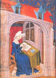 Christine de Pisan, auteur de chants royaux.