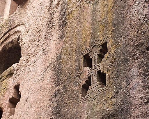 Church Window, Lalibela, Ethiopia (3256526962)