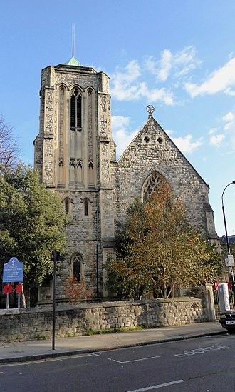 St Stephen's Church, Shepherd's Bush - Church of St Stephen and St Thomas, Shepherd's Bush
