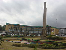 De Place de la République in Abidjan.