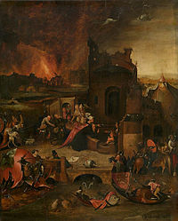 Circle of Jheronimus Bosch - Temptation of Saint Anthony (Antwerpen).jpg