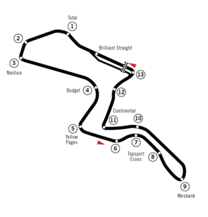South African Grand Prix - Kyalami (built in early 1990s)
