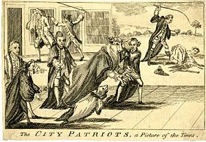 James Townsend (Lord Mayor of London) - Image: City Patriots