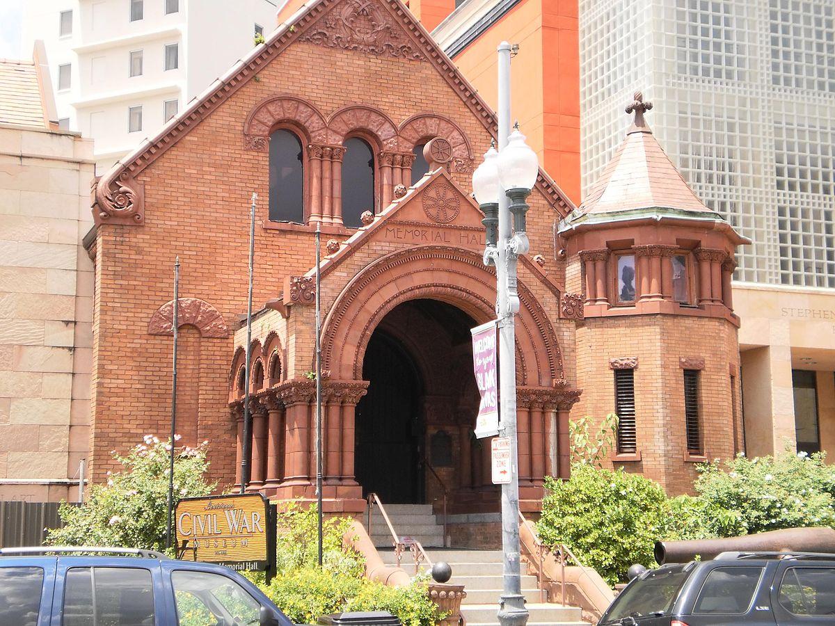 Confederate Memorial Hall Museum - Wikipedia