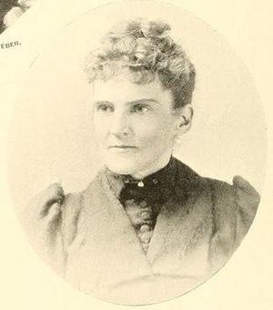 Charles Frederick Crisp - Clara Bell Burton