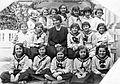 Class photo, girls' class, teacher Fortepan 3036.jpg