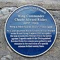 Claude Alward Ridley blue plaque.jpg