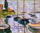 Claude Monet - Voiliers sur la Seine (1874).jpg