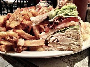 Club sandwich - Image: Club Sandwich from Quebec