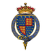 Coat of Arms of Sir Jasper Tudor, 1st Earl of Pembroke, KG.png