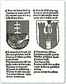 Coat of arms and the delegation to Konstanz of the Óbuda University.jpg