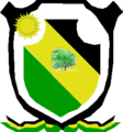 Coat of arms of Albania, La Guajira.png