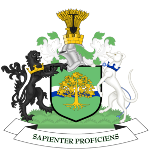 Nottinghamshire - Image: Coat of arms of Nottinghamshire County Council