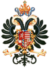 Coat of arms of Rudolf II, Holy Roman Emperor.png