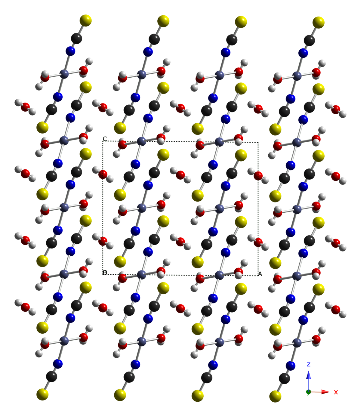 Cobalt(II) thiocyanate - Wikipedia