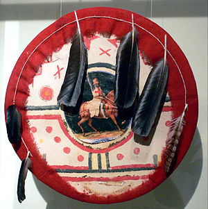 Cochiti, New Mexico - Image: Cochiti Pueblo Ceremonial shield Ethn M
