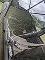 Cockpit 1956 Cessna L-19 Franconia Airport NH Route 116 Franconia NH May 2021.jpg