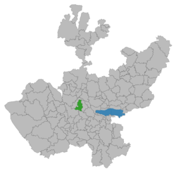 Location in Jalisco