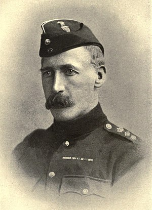 Maurice George Moore - Moore in uniform.