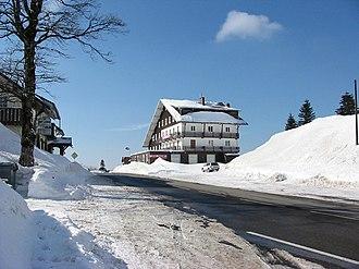 Col de la Schlucht - The Col de la Schlucht at the end of winter, March 2006