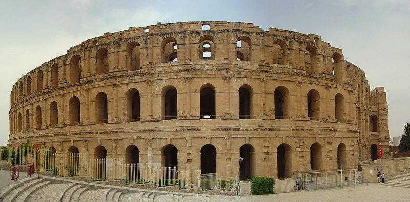 Archivo: Colisée d'El Jem vue panoramique.jpg