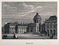 Collège des Quatre Nations, Paris; side view of part of the Wellcome V0014269.jpg