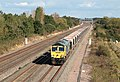 Colnbrook-Stoke Gifford empty hoppers with Freightliner Class 66620 near Denchworth.jpg