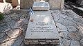 "Colonel Eliezer Margolin's grave at the old Rehovot cemetery קבר מרגולין בבית העלמין תר""ן ברחובות.jpg"