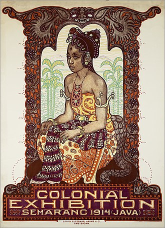 Albert Hahn - Image: Colonial Exhibition Semarang 1914