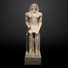 Colossal Statue of Menkaura in Boston