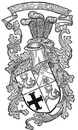 Fig. 394.—Armorial bearings of Marindin.
