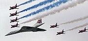 Parade flight at Queen's Golden Jubilee