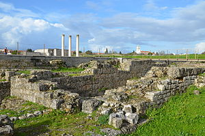 Conímbriga - A view of the ruins of the Roman settlement of Conímbriga