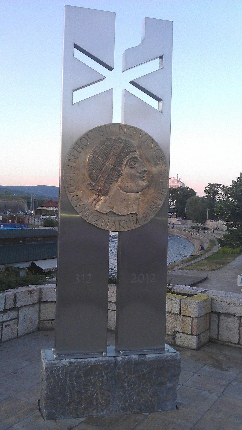 Constantine monument in Nis