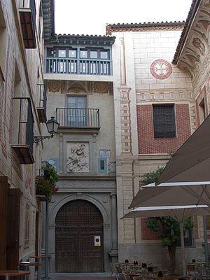 Convento de Santa Fé - Image: Convento de Santa Fe (Toledo). Portada
