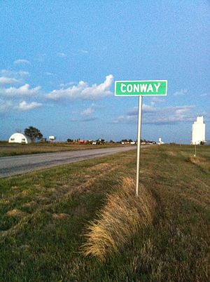 National Register of Historic Places listings in Carson County, Texas - Image: Conway TX
