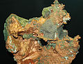 Copper with silver (Mesoproterozoic, 1.05-1.06 Ga; Knowlton Lode, Caledonia Mine, Ontonagon County, Michigan, USA) 2 (17297699916).jpg