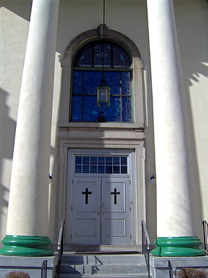 Coptic Orthodox Church in the United States - St. George Coptic Orthodox Church in Norristown, Pennsylvania (serving Philadelphia).