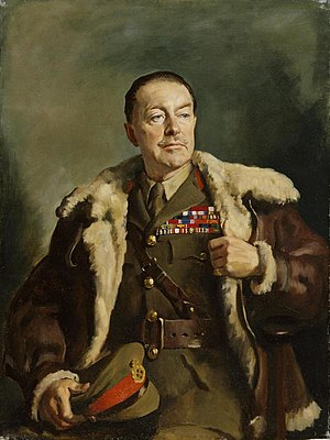 Oswald Birley - Portrait of General Harold Alexander by Birley in 1940
