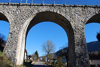 Corcelles, Bern - Corcelles railroad bridge