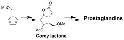 The Corey lactone